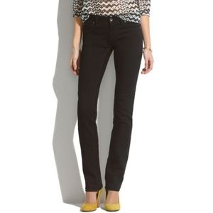 Madewell Tail Straight black jeans